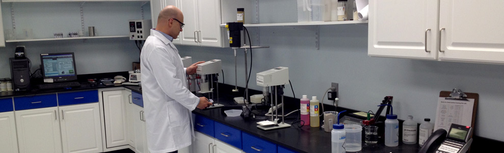 QA/QC Lab Ensures Quality Product