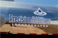 PRecision Additives Delivery Tanker